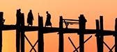 Puente U-Bein </br> Myanmar